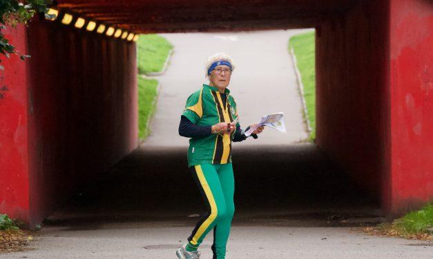 Bilder och film från sprinten