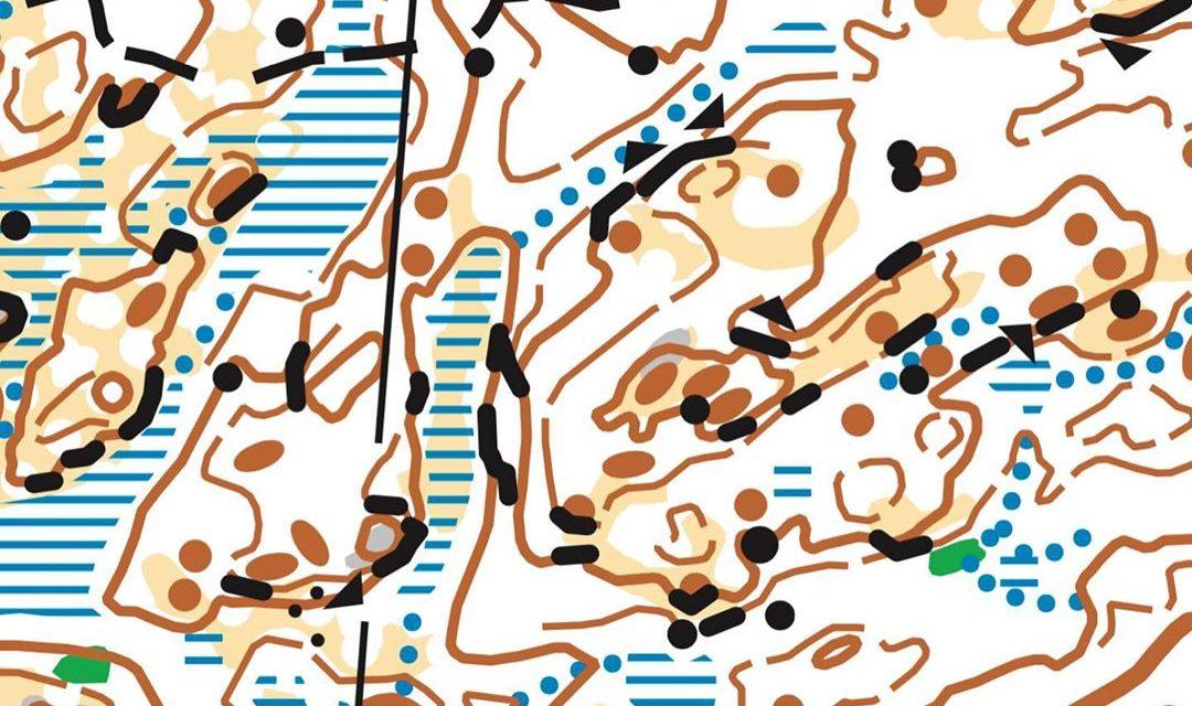 Kartprov från medel- och långdistanserna
